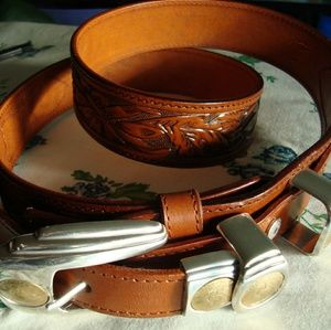 Accessories - Western style leather belt